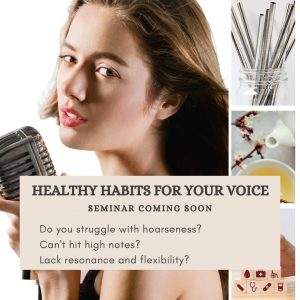 Healthy habits for your voice with Delia Ivan vocal coach